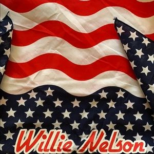 Willie Nelson Stars and Stripes Bandana
